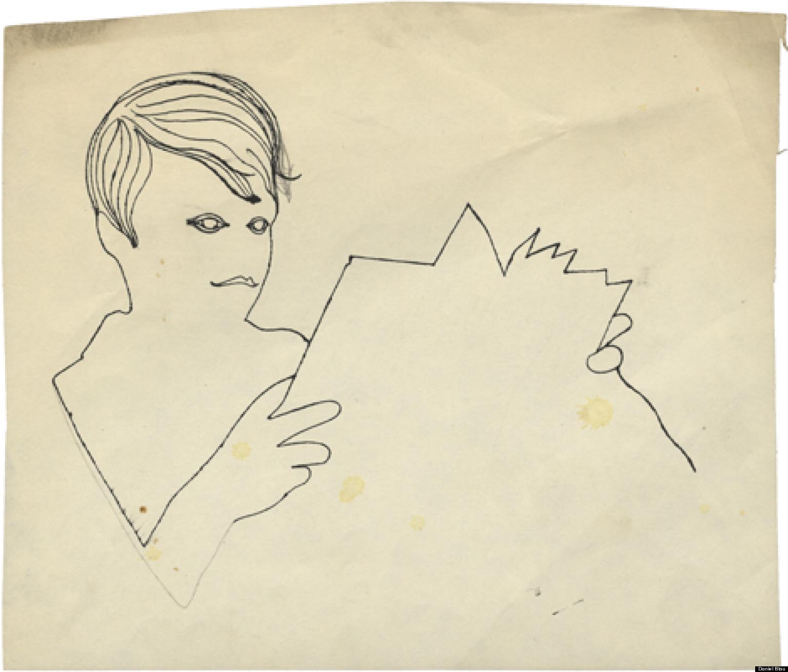 Andy warhol i disegni inediti dell 39 artista foto for Ricerca su andy warhol