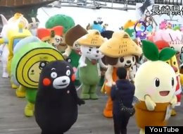 ADORABLE ALERT: Japan Sets Record For Synchronized Mascot Dancing