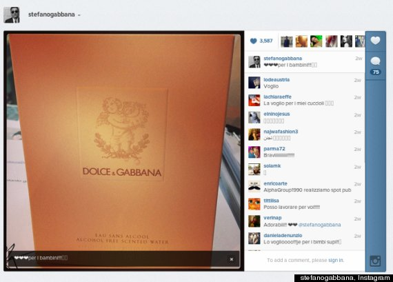 dolce and gabbana baby perfume