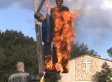 Pastor Terry Jones Burns Obama, Clinton Effigies In Response To Gay Rights Support
