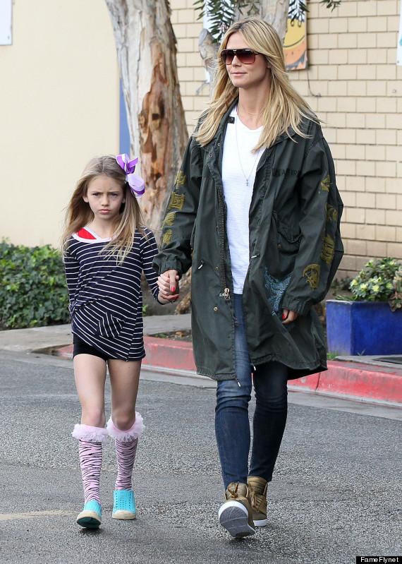 Leni Samuel Is Heidi Klum's Mini-Me (PHOTO) | HuffPost