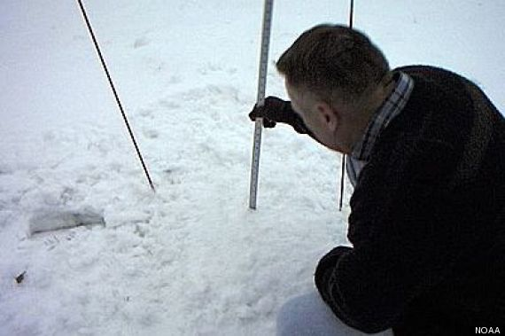 measuring snow accurate reading