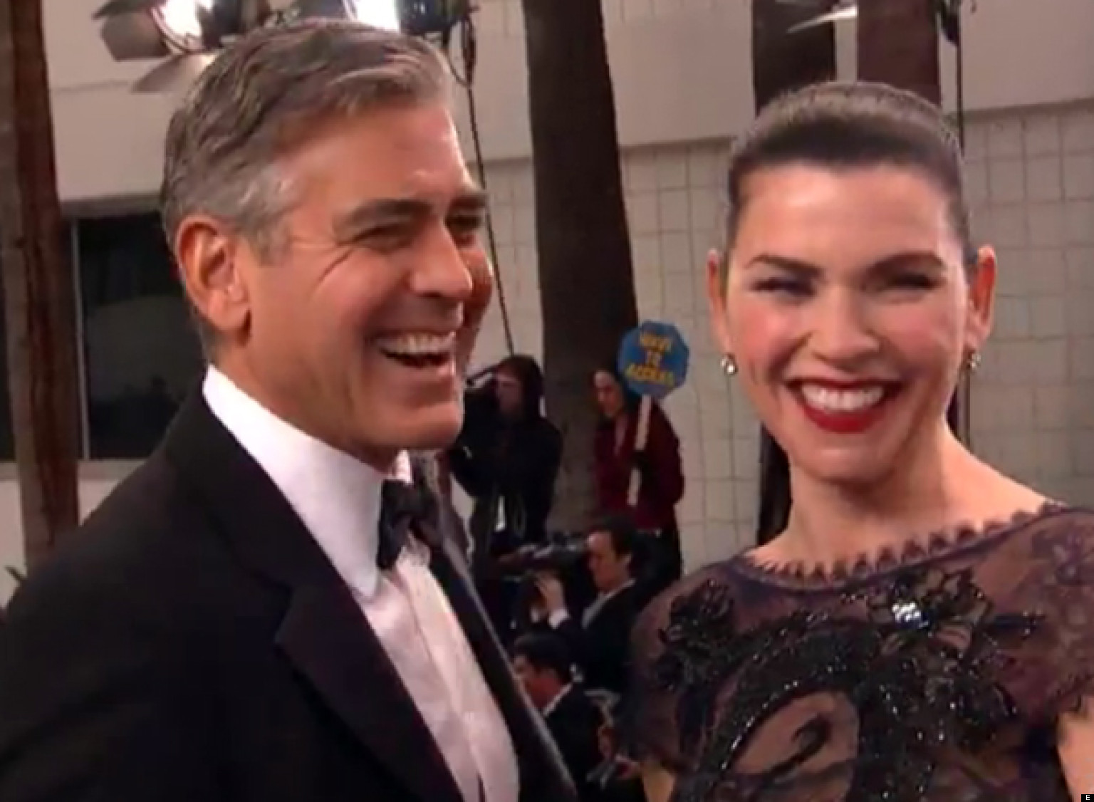 George clooney on the good wife julianna margulies says it d be fun
