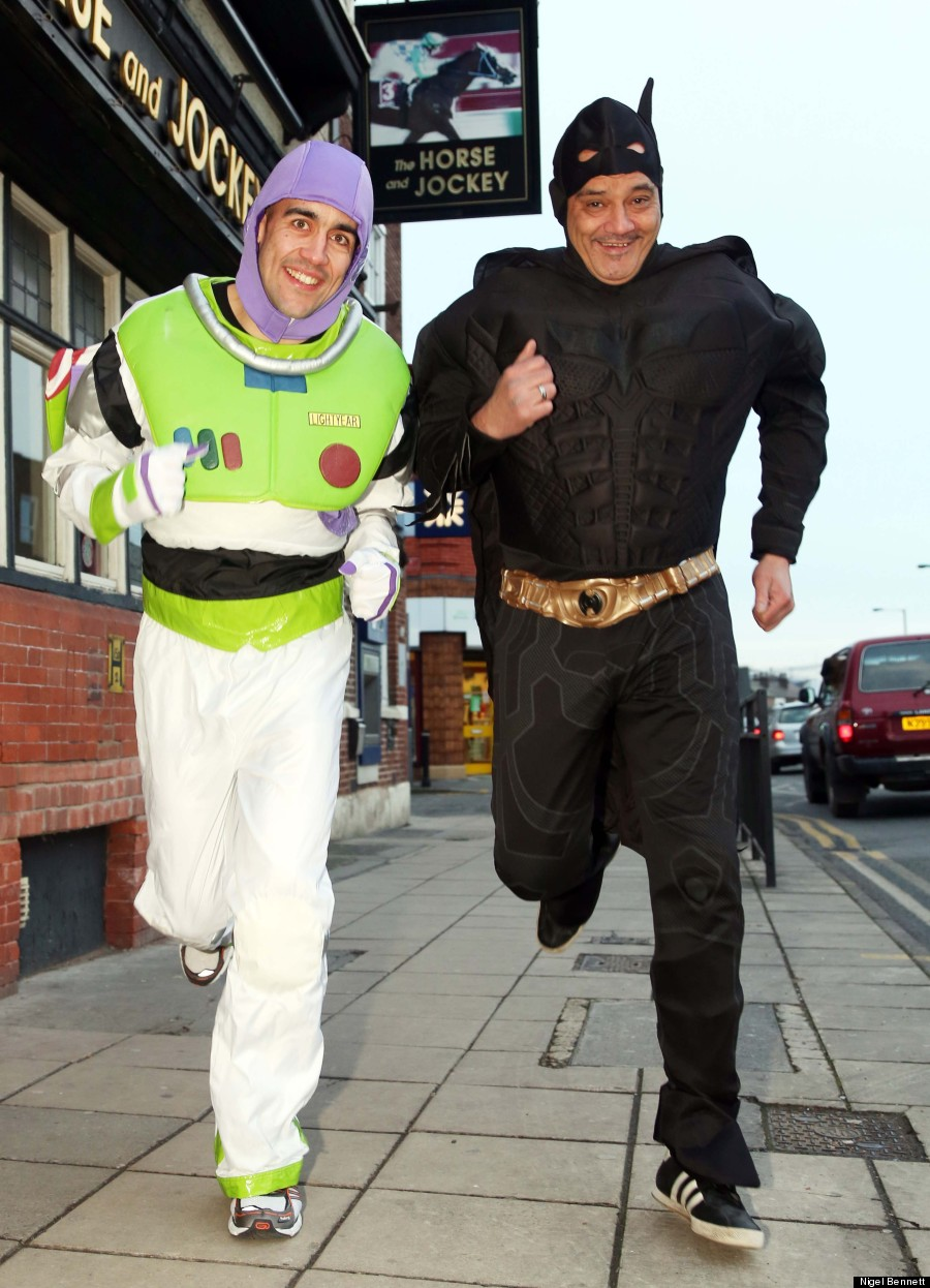 batman and buzz lightyear