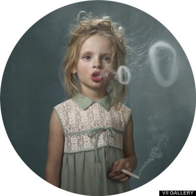 bambini fumatori