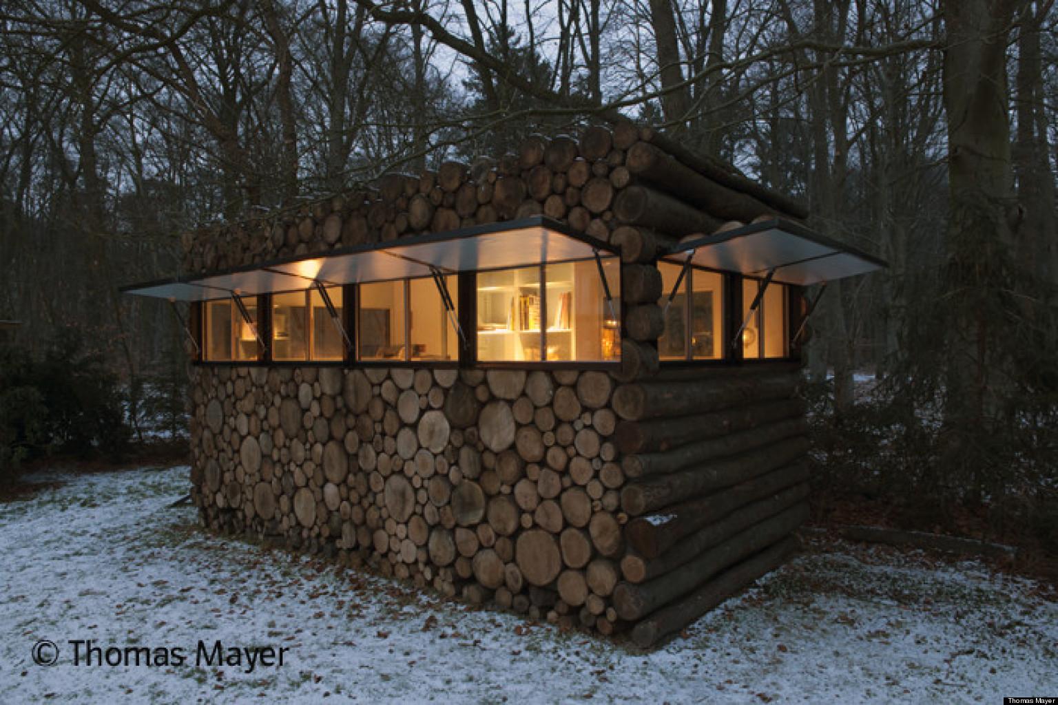 Photos la cabane en troncs le nouveau pavillon de jardin la mode aux pays bas - Cabane de jardin grenoble ...