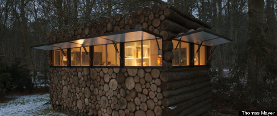 CABANE TRONCS ARCHDAILY