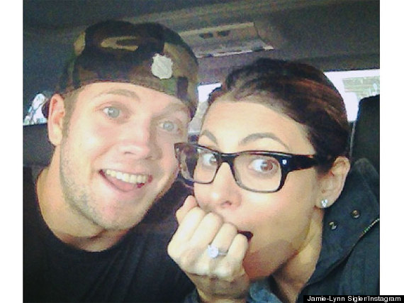 jamie lynn sigler engaged