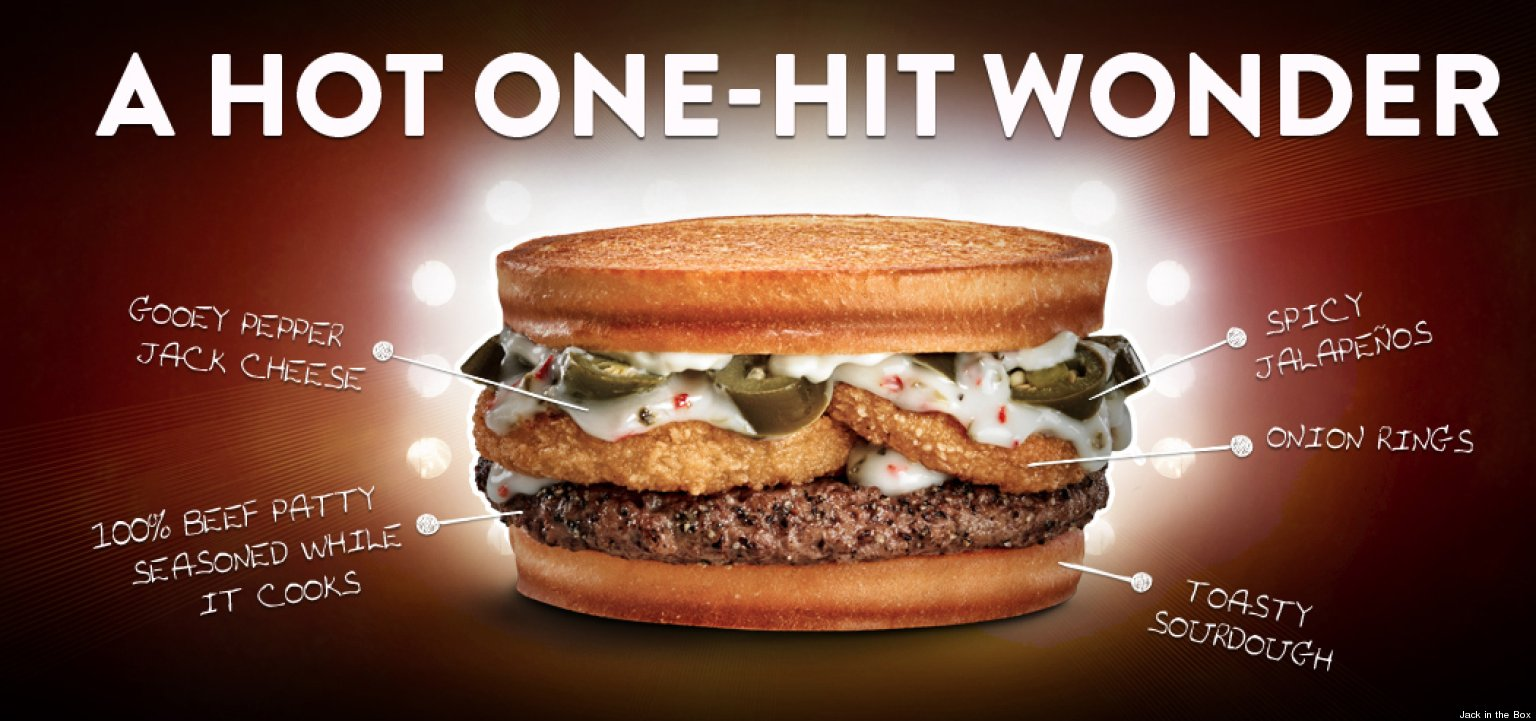 Hot Mess' Burger, By Jack In The Box, Features Jumbo Beef Patty With