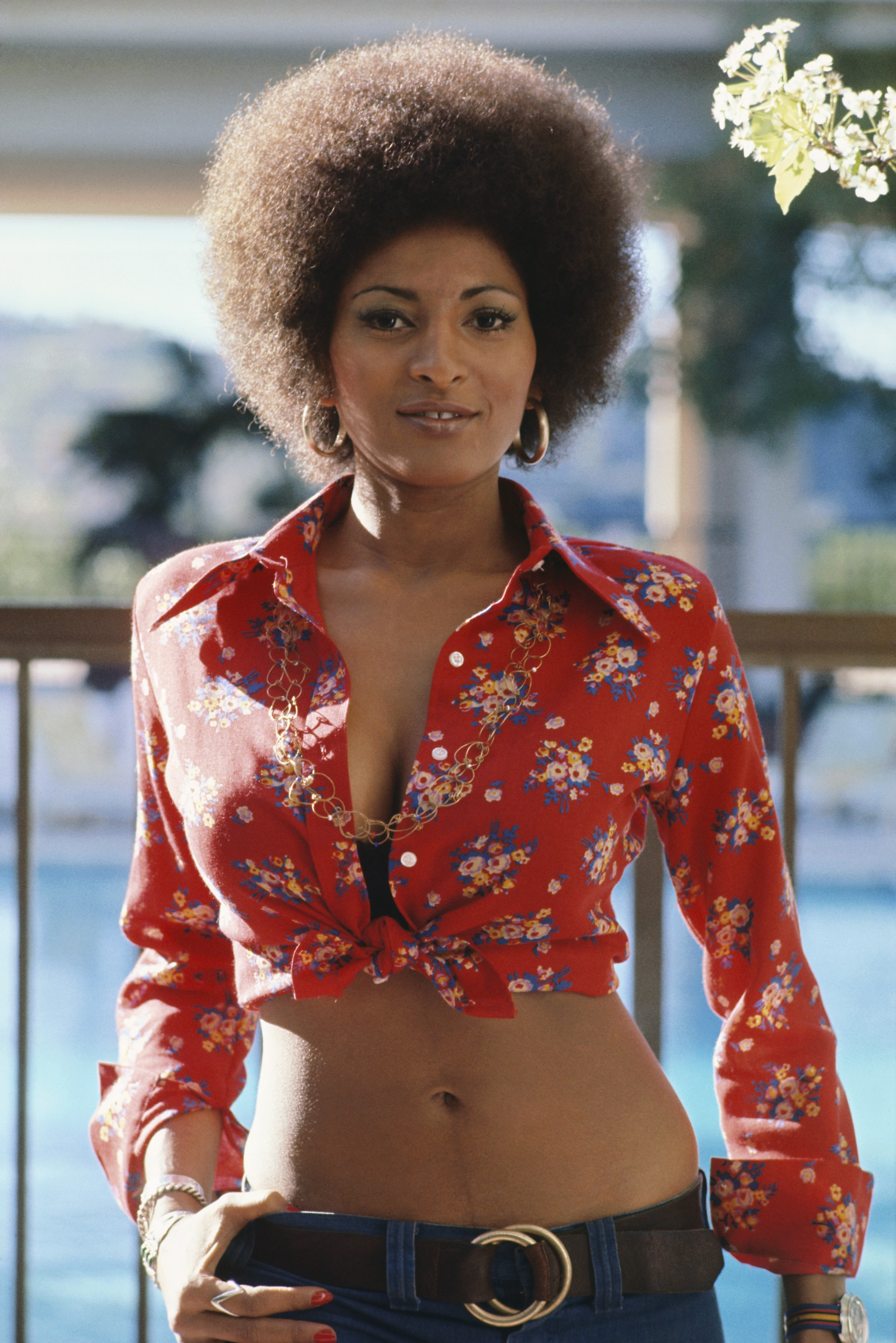 Pam Grier, AKA Foxy Brown, And Her Sexy Crop Top (PHOTO)