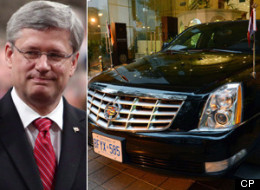 Stephen Harper Limos India