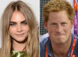 Cara Delevingne Talks Prince Harry & Harry Styles: 'Both Harrys, Just Rumours'