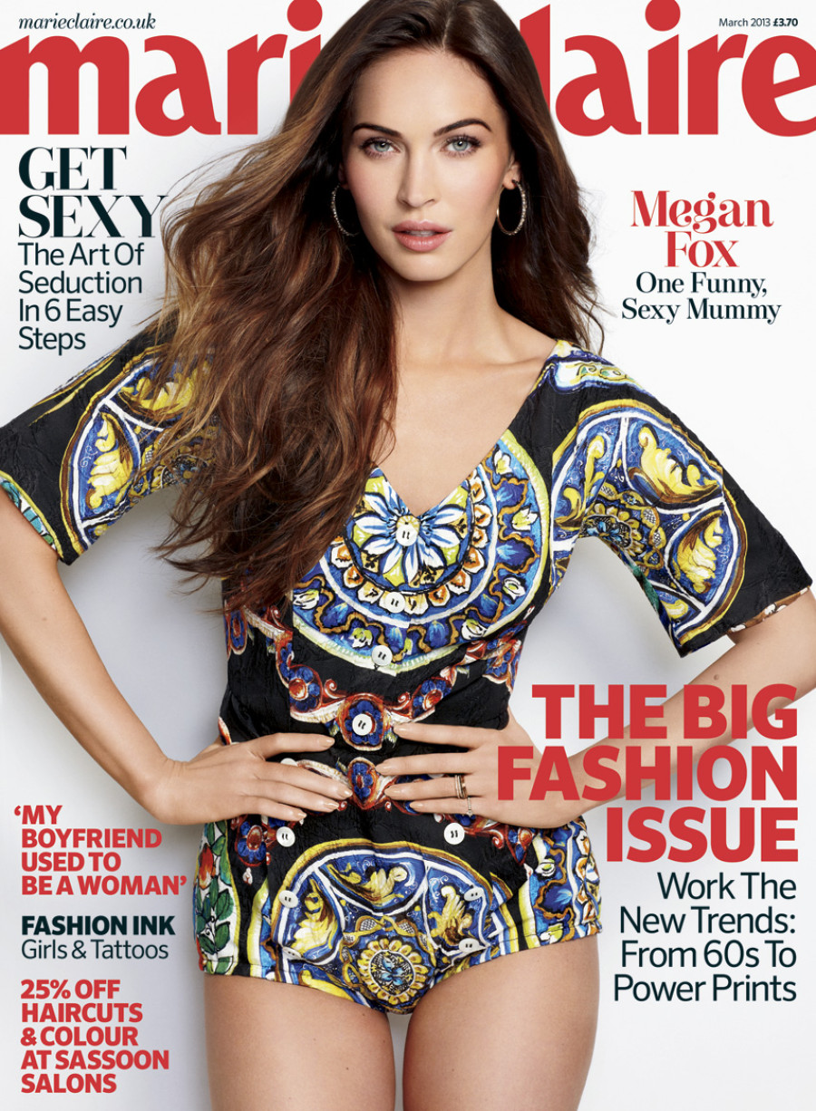 megan fox main cover