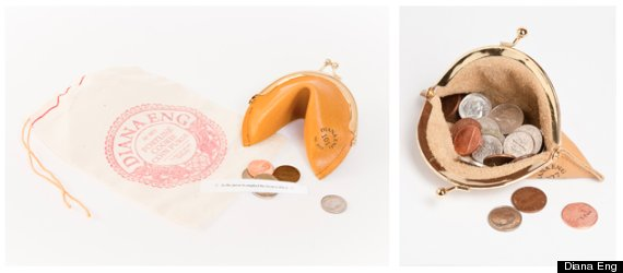 fortune cookie purse