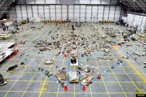columbia shuttle debris