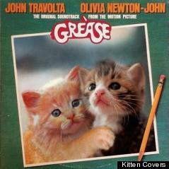 grease kitten album cover