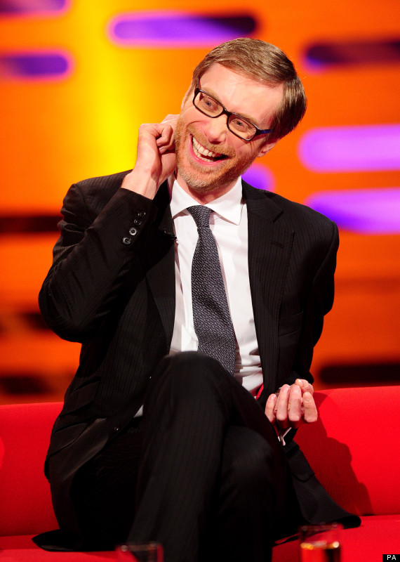 Stephen Merchant Laughing