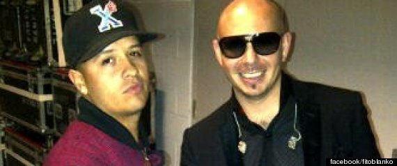 FITO BLANKO SIGNS WITH PITBULL