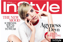 Agyness Deyn Does Twiggy For InStyle Shoot