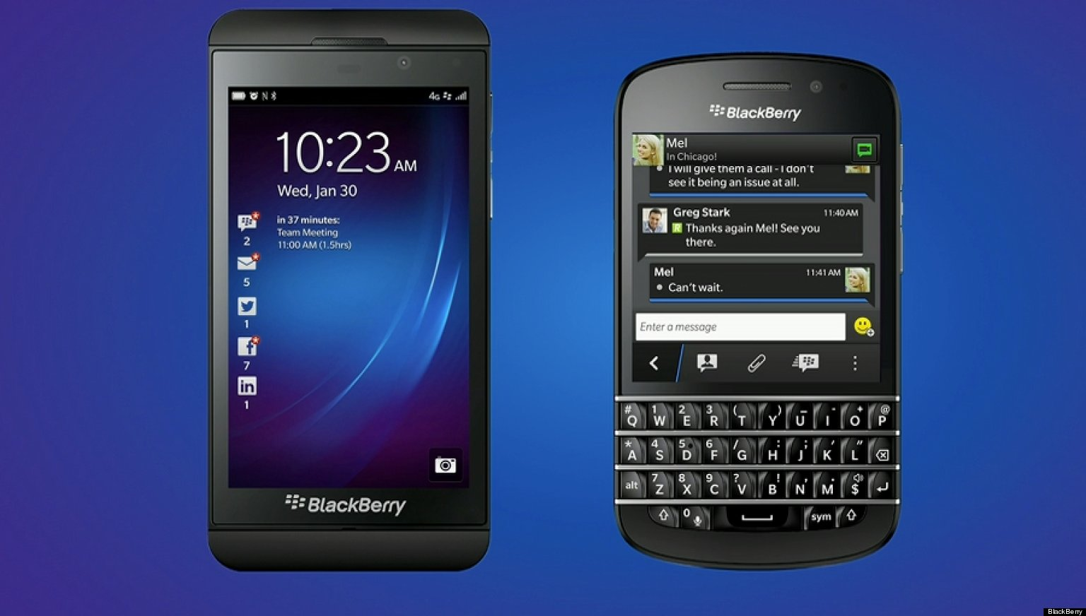 Any new BlackBerry 10 devices to be released soon?