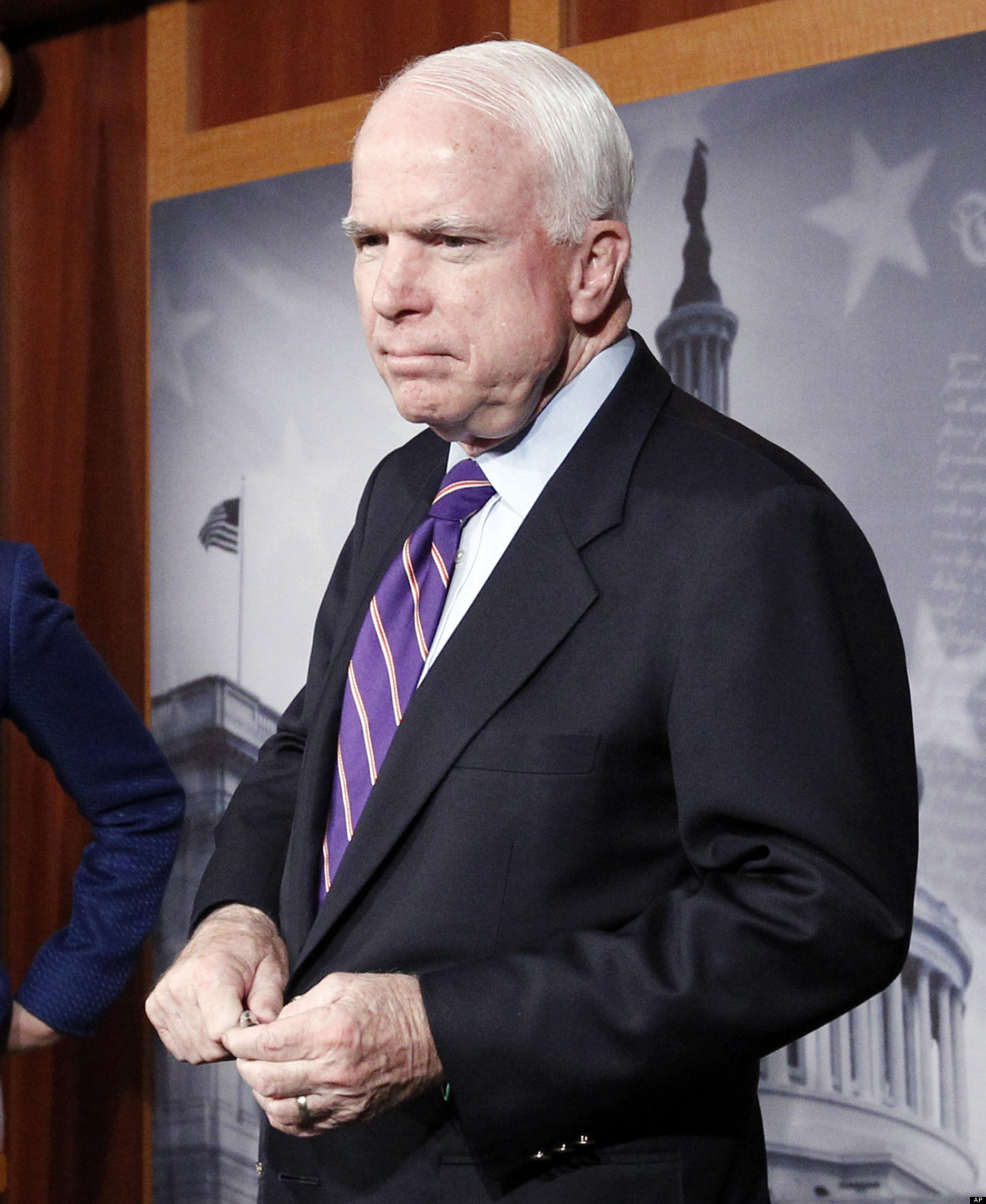 Sidney Mccain: John McCain: LGBT Issues 'Best Way To Derail' Immigration