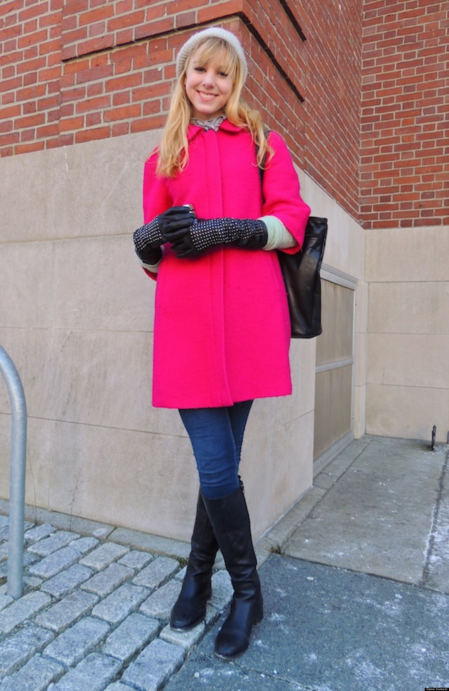 How This Brown University Student Looks Chic In The Cold