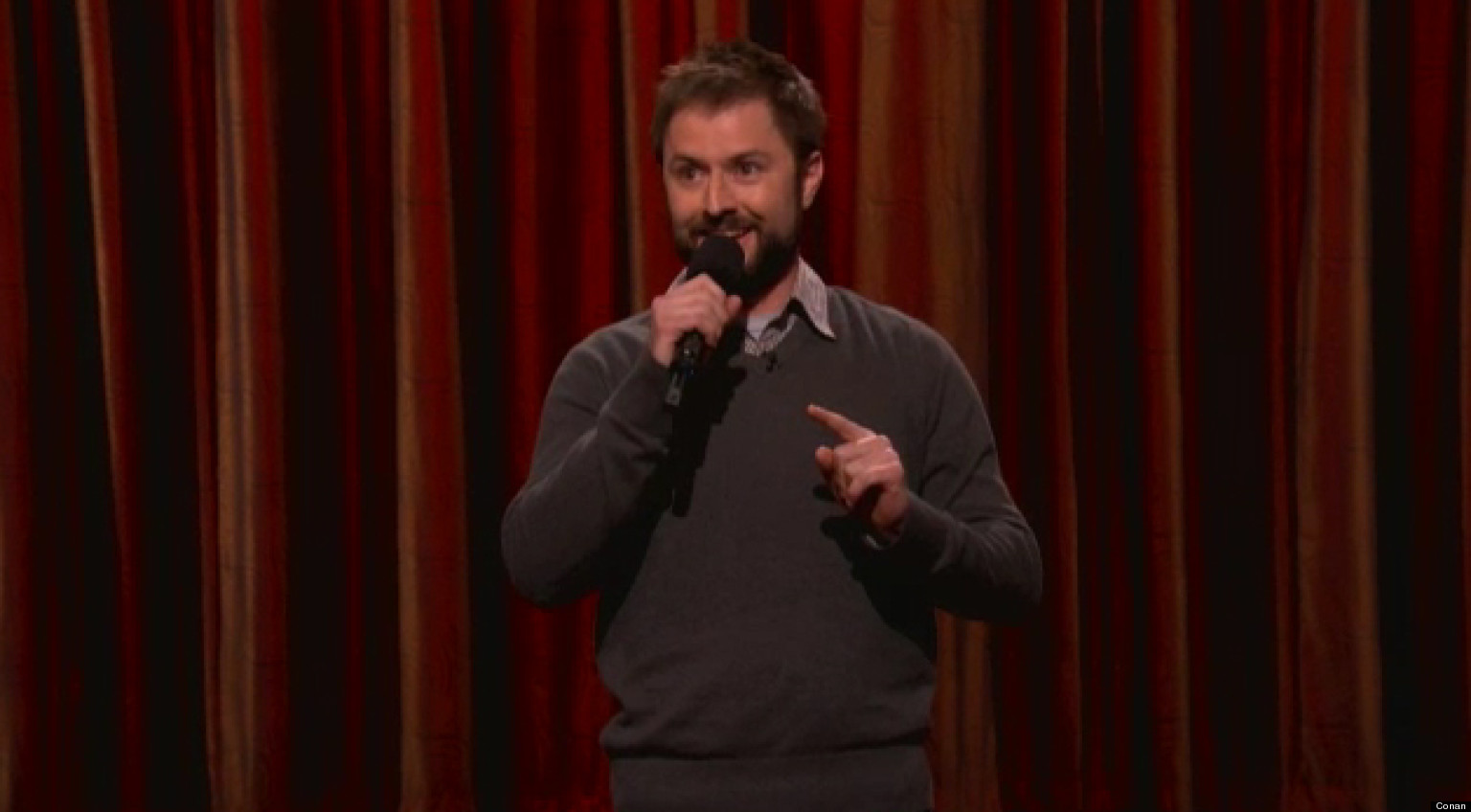adam cayton holland denver stand up comic makes conan