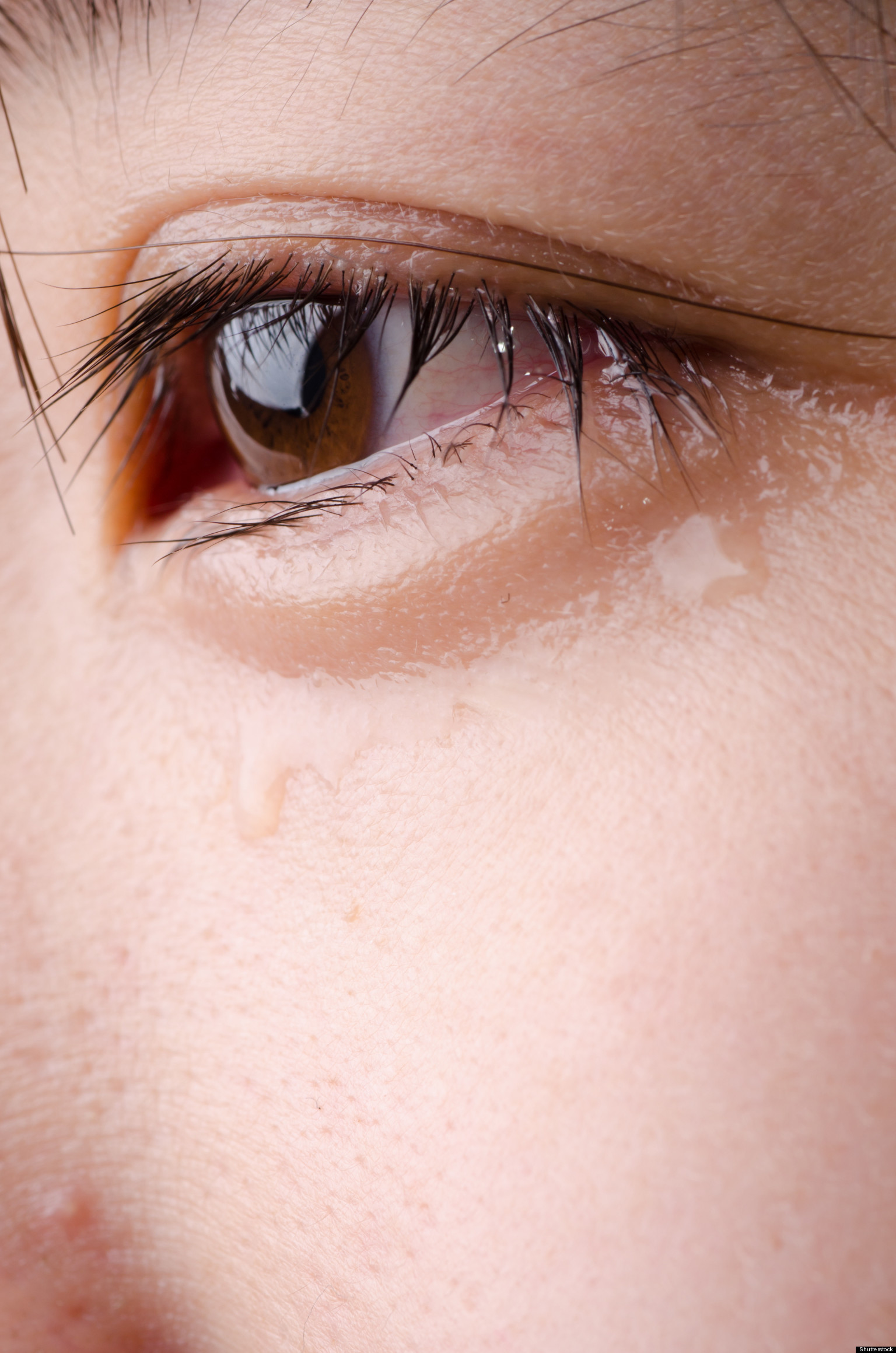 Crying Science: Why Do We Shed Tears When We're Sad? (VIDEO)
