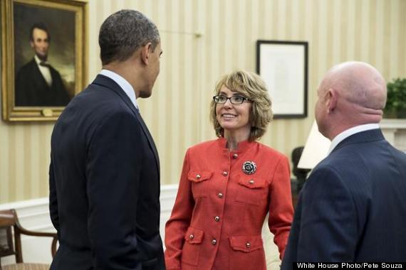 gabrielle giffords oval office