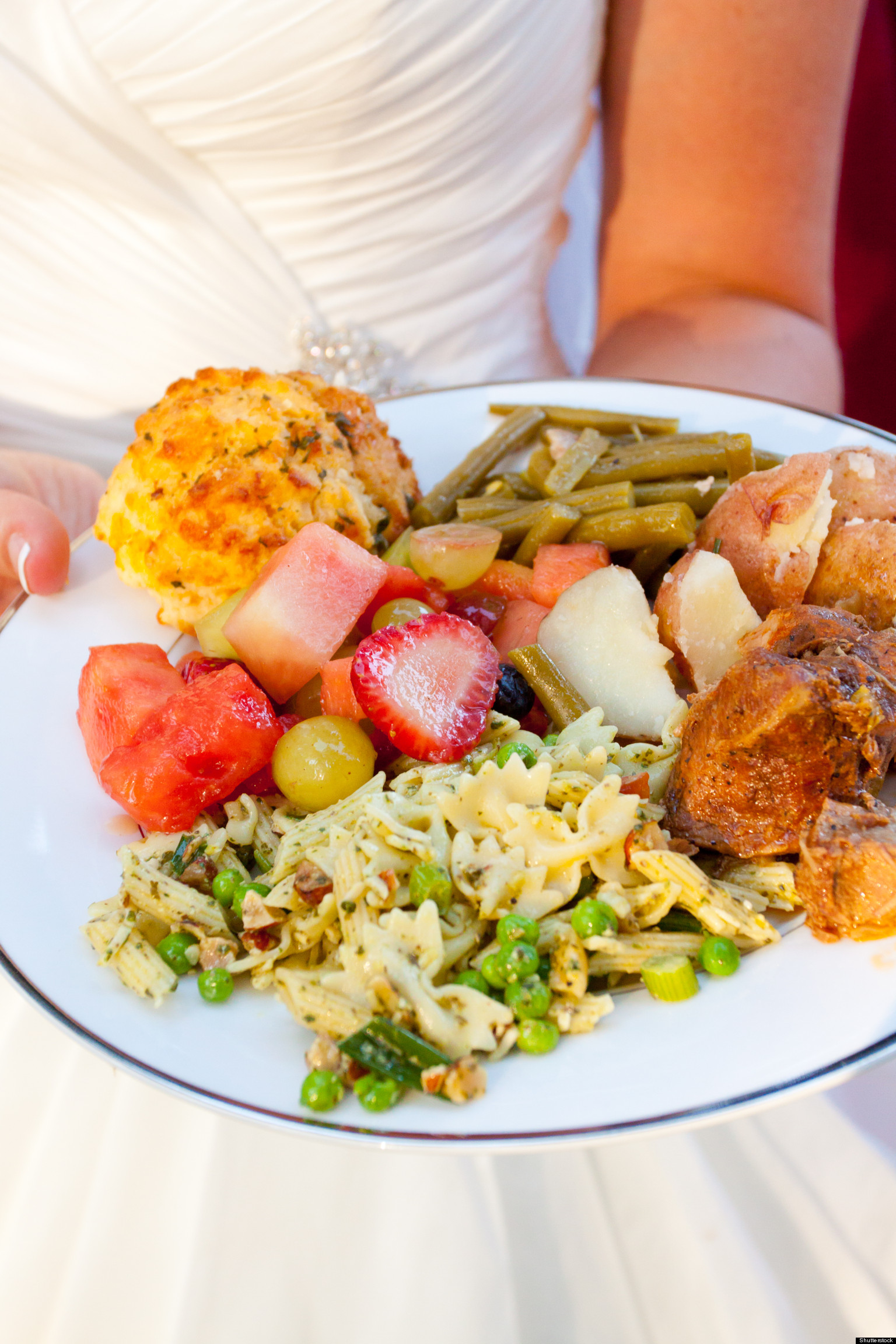 Wedding Food How To Choose A Reception Style INFOGRAPHIC
