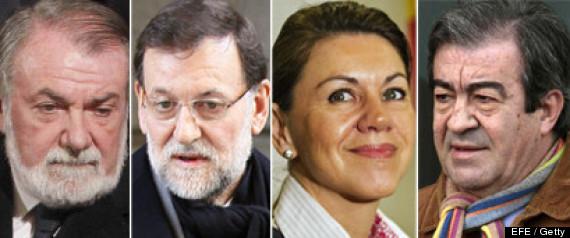 POLTICOS EN PAPELES BARCENAS