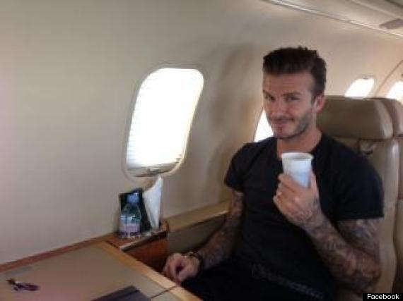 david beckham transfer paris st germaine