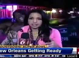 WATCH: Super Bowl Reporter Asks Drunk Passerby If She Has An STD
