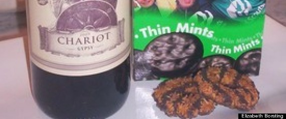 GIRL SCOUT COOKIES WINE