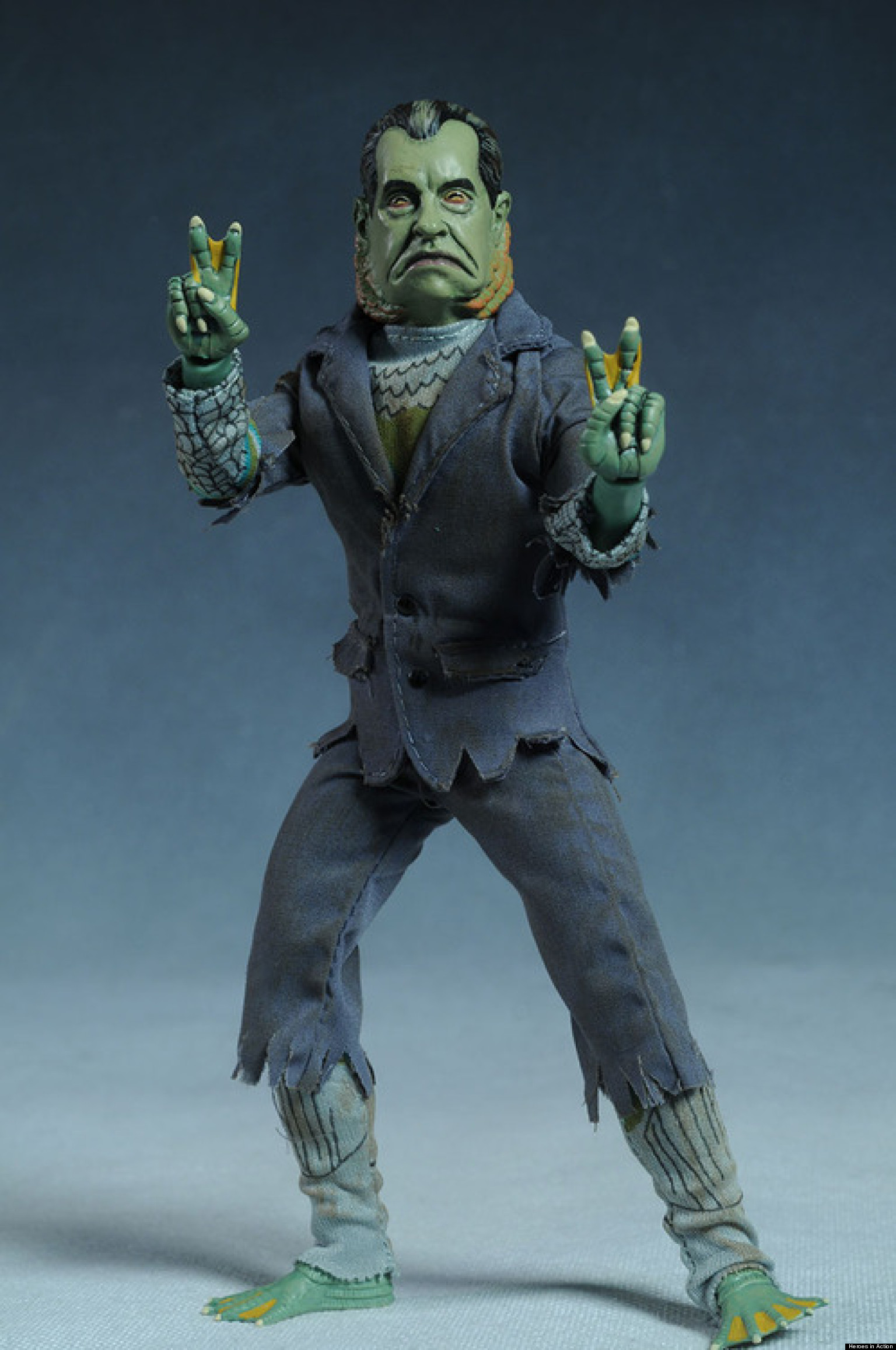 Presidential Monster Action Figures Are A Real And Amazing