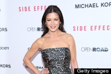 Eek Or Chic? Catherine Zeta-Jones Wears A Mullet Dress