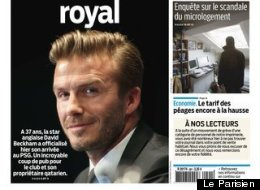 What Do The French Papers Make Of Beckham?