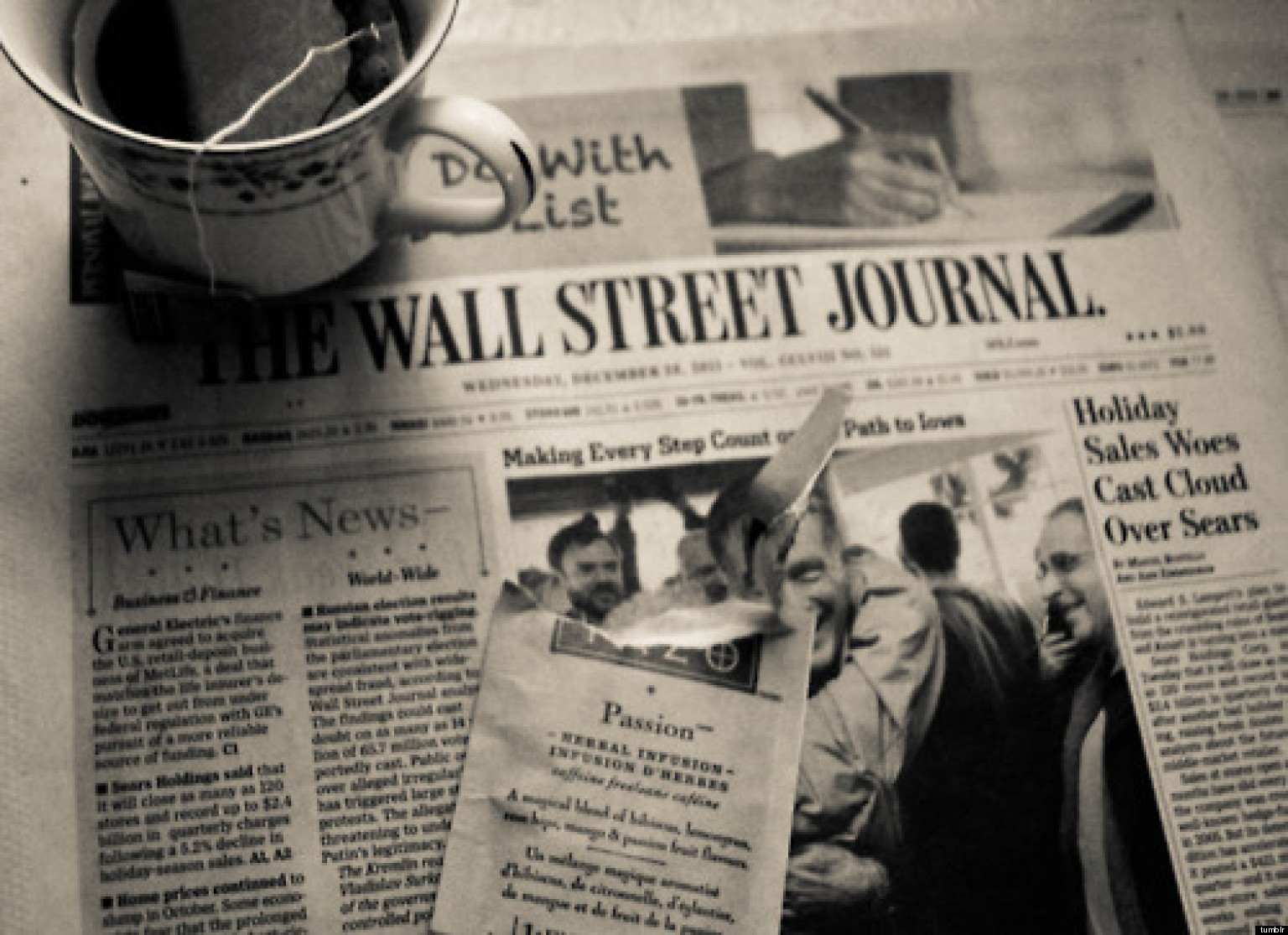 wall street journal thomson reuters article