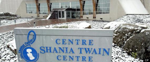 SHANIA TWAIN CENTRE CLOSING