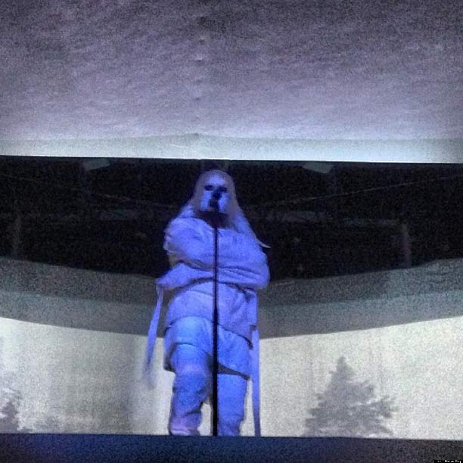 Kanye West's Straitjacket: Rapper Dons Even More Eccentric Stage ...