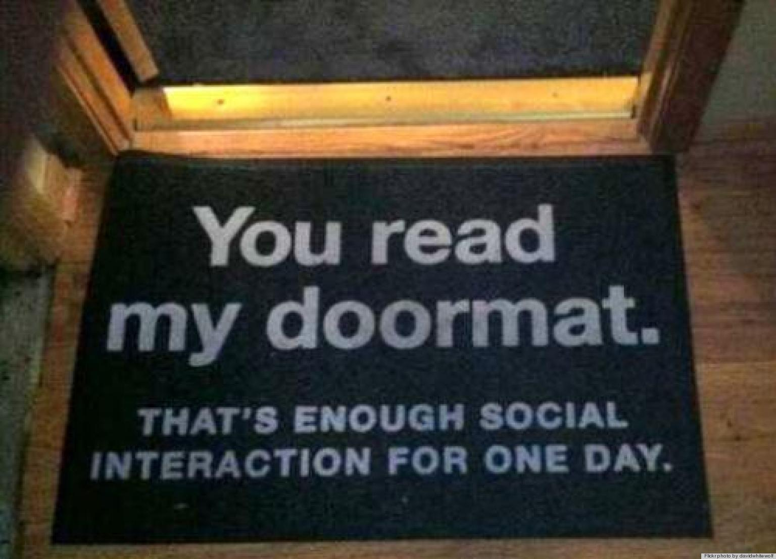 10 Funny Doormats That Completely Spoke Our Minds