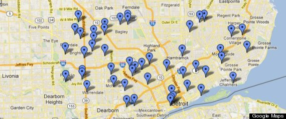 Which Detroit Parks Are Closing City Closing 50