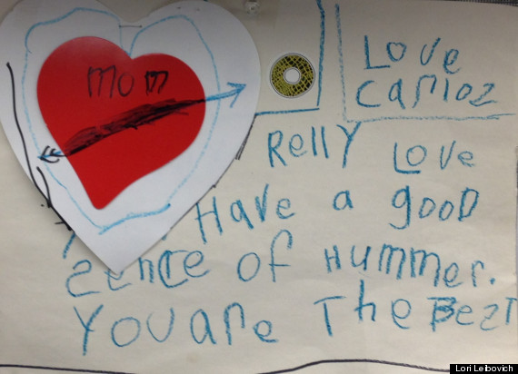 Cute Kid Note Of The Day A Love Letter To Mom  HuffPost