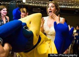 Touchdown! The Best Football-Themed Weddings