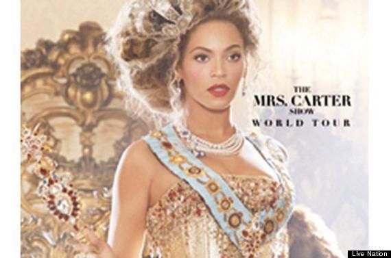 mrs carter show