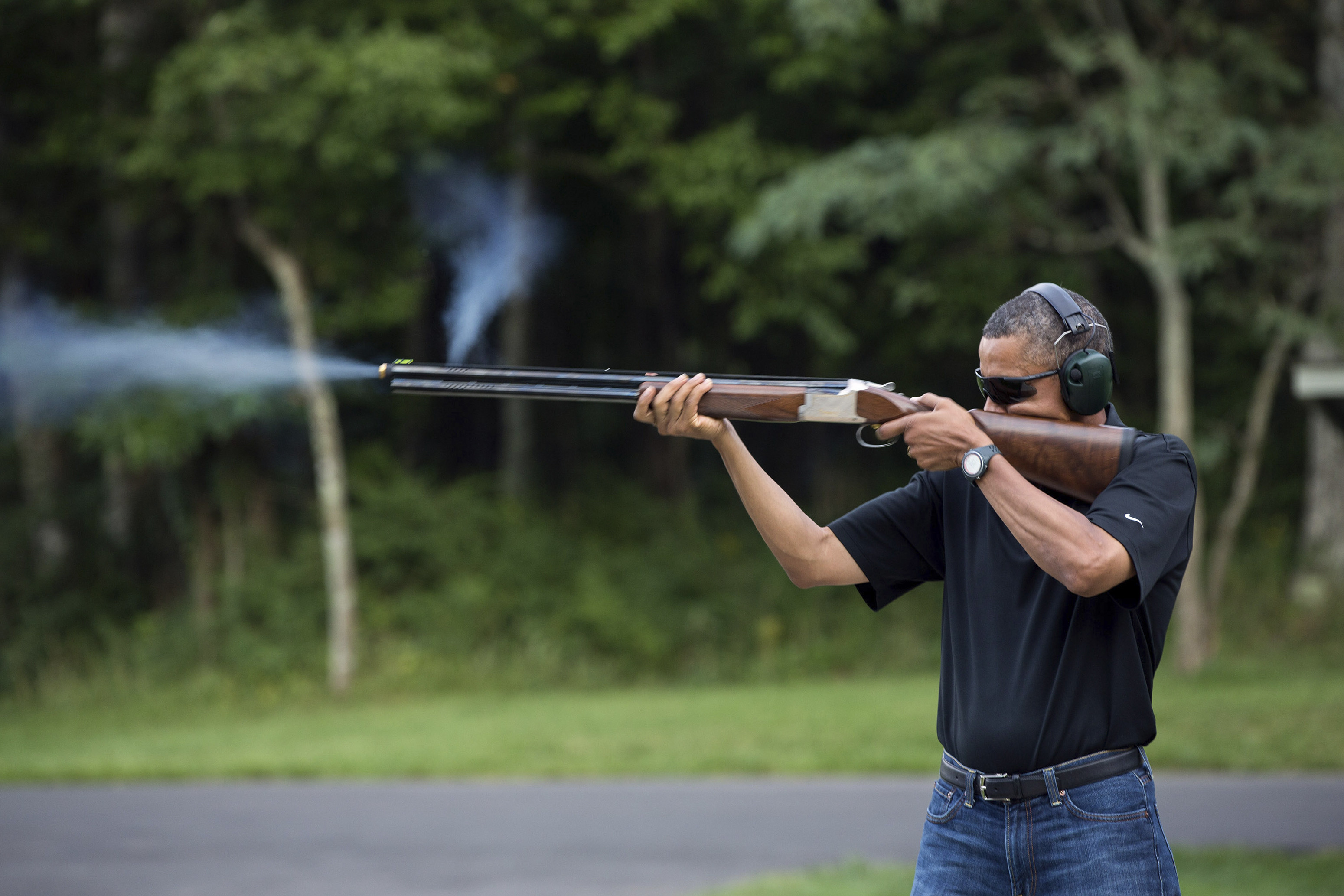 obama fusil