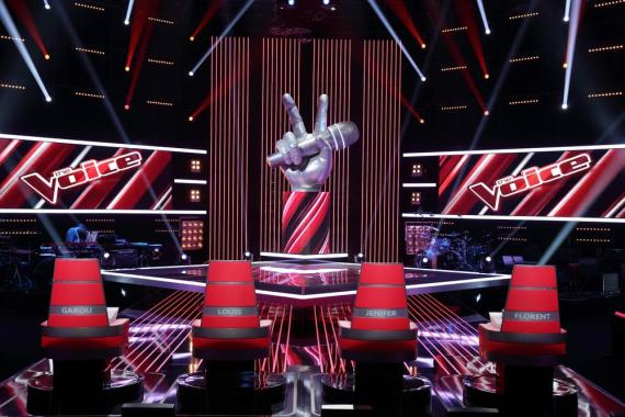 the voice tf1 plateau