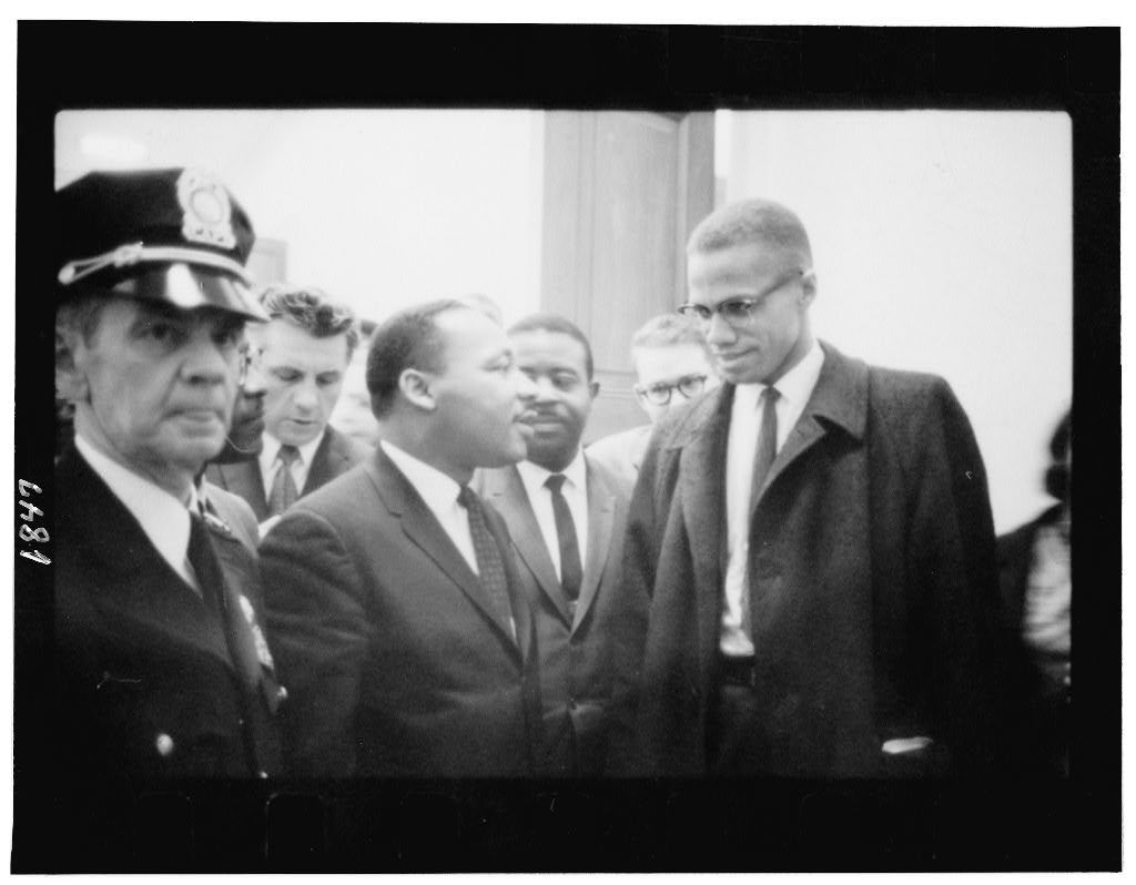 a comparison of dr martin luther king jr and malcolm x Comparison of malcolm x and martin luther king jr in the civil rights movement - throughout the civil rights movement, many leaders emerged that captured the.