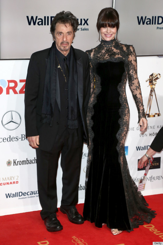 Lucila Sola Wears Shockingly Sheer Dress To Goldene Kamera ... Al Pacino Wikipedia