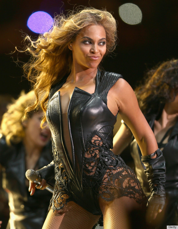 beyonce halftime dress